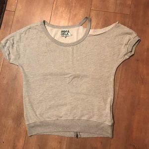 Grey work out shirt or everyday shirt